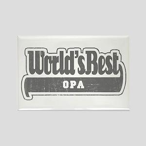 WB Grandpa [Dutch] Rectangle Magnet